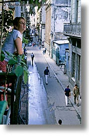 balconies, caribbean, city scenes, cuba, havana, island nation, islands, latin america, south america, vertical, photograph