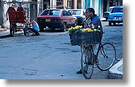 caribbean, city scenes, cuba, flowers, havana, horizontal, island nation, islands, latin america, south america, vendors, photograph