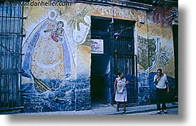 caribbean, city scenes, cuba, havana, horizontal, island nation, islands, latin america, murals, south america, photograph