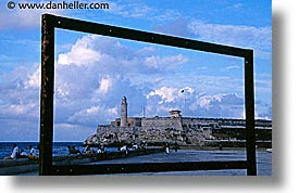 caribbean, cuba, frames, havana, horizontal, island nation, islands, latin america, lighthouses, malecon, south america, photograph