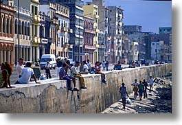 caribbean, cuba, havana, horizontal, island nation, islands, latin america, malecon, south america, photograph