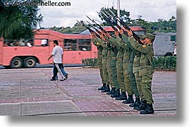 caribbean, cuba, havana, horizontal, island nation, islands, latin america, military, parade, south america, photograph