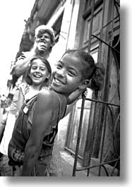 black and white, caribbean, childrens, cuba, havana, island nation, islands, latin america, people, south america, vertical, photograph