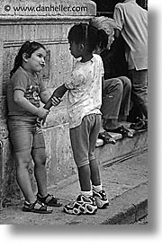 black and white, caribbean, childrens, cuba, gimme, havana, island nation, islands, latin america, people, quarter, south america, vertical, photograph