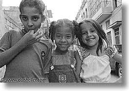 black and white, caribbean, childrens, cuba, havana, horizontal, island nation, islands, latin america, people, south america, threes, photograph