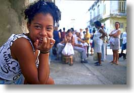 caribbean, childrens, cuba, havana, horizontal, island nation, islands, latin america, people, round, sittin, south america, photograph