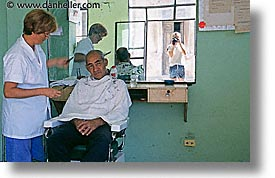 barbers, caribbean, cuba, havana, horizontal, island nation, islands, latin america, men, people, south america, photograph