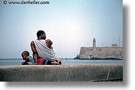 boys, caribbean, cuba, havana, horizontal, island nation, islands, latin america, lighthouses, men, people, south america, photograph