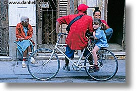 bicycles, caribbean, cuba, families, havana, horizontal, island nation, islands, latin america, people, south america, photograph