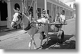 caribbean, carts, cuba, drawn, havana, horizontal, horses, island nation, islands, latin america, people, south america, photograph