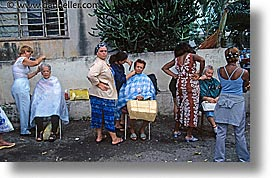 caribbean, cuba, haircuts, havana, horizontal, island nation, islands, latin america, people, south america, womens, photograph
