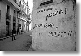 caribbean, cuba, havana, horizontal, island nation, islands, latin america, politics, socialismo, south america, photograph