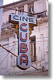 caribbean, cuba, havana, island nation, islands, latin america, signs, south america, vertical, photograph