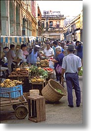 caribbean, cuba, havana, island nation, islands, latin america, market, south america, streets, vertical, photograph