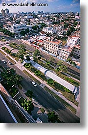 aerials, caribbean, cuba, havana, island nation, islands, latin america, south america, vedado, vertical, photograph