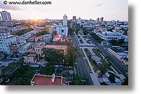 aerials, caribbean, cuba, havana, horizontal, island nation, islands, latin america, south america, vedado, photograph