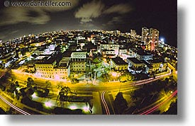 aerials, caribbean, cuba, havana, horizontal, island nation, islands, latin america, nite, south america, vedado, photograph