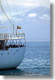 boats, ecuador, equator, galapagos, galapagos islands, heels, heritage, islands, latin america, ocean, pacific ocean, south pacific, vertical, water, photograph