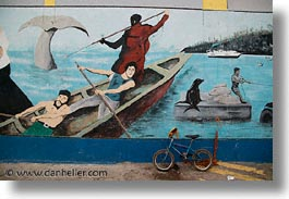 ecuador, equator, galapagos, galapagos islands, horizontal, islands, latin america, murals, pacific ocean, south pacific, photograph