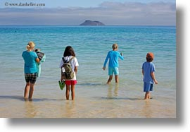 beaches, childrens, ecuador, equator, galapagos islands, horizontal, latin america, natural habitat, people, photograph