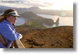 bartolome, ecuador, equator, galapagos islands, horizontal, jills, latin america, people, tourists, womens, photograph