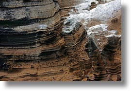 artful, cliffs, ecuador, equator, galapagos islands, horizontal, latin america, layers, rocks, santa cruz, photograph