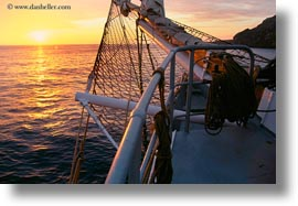 ecuador, equator, galapagos islands, horizontal, latin america, scenics, ships, sunsets, photograph