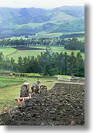 ecuador, equator, highlands, latin america, plowing, vertical, photograph