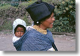 babies, carries, ecuador, equator, horizontal, latin america, people, photograph