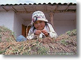 ecuador, equator, girls, grass, horizontal, latin america, people, photograph