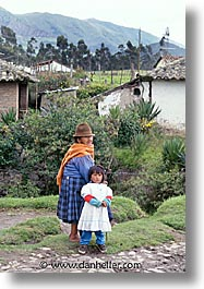 daughter, ecuador, equator, latin america, mothers, people, vertical, photograph