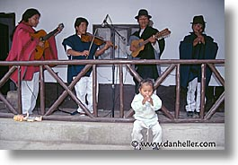 ecuador, equator, horizontal, kid, latin america, musicians, people, photograph