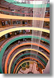 buildings, circular, ecuador, equator, latin america, mall, quito, shoopping, vertical, photograph