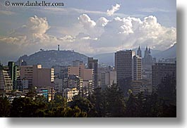 cityscapes, clouds, ecuador, equator, horizontal, latin america, nature, quito, sky, photograph