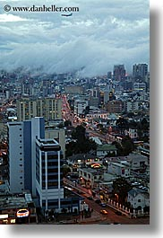 cityscapes, clouds, ecuador, equator, fog, latin america, nature, quito, sky, vertical, photograph