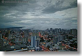 cityscapes, clouds, ecuador, equator, fog, horizontal, latin america, nature, quito, sky, photograph