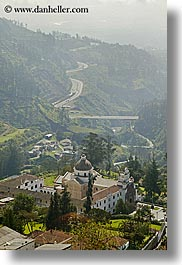 ecuador, equator, hills, landscapes, latin america, nature, quito, scenics, valley, vertical, photograph