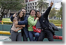 couples, ecuador, emotions, equator, happy, horizontal, latin america, people, quito, smiles, two, photograph