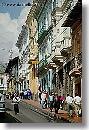buildings, ecuador, equator, latin america, quito, streets, structures, towns, vertical, photograph