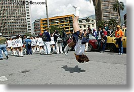 boots, clothes, ecuador, equator, girls, horizontal, jump, latin america, majorettes, people, quito, shoes, teenagers, womens, photograph