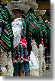 ecuador, emotions, equator, green, latin america, people, quechua, quito, smiles, smiling, vertical, womens, photograph