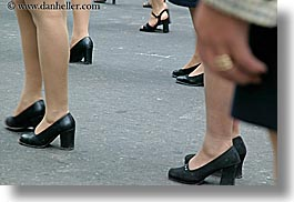 clothes, ecuador, equator, high-heeled, horizontal, latin america, legs, people, quito, shoes, womens, photograph