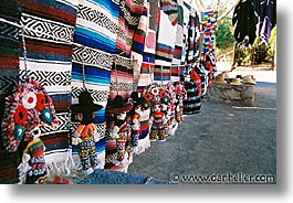 blankets, dolls, horizontal, latin america, mexico, mulege, photograph