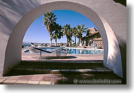 arches, horizontal, latin america, mexico, pools, punta chivato, photograph