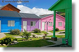 colorful, el chalten, homes, horizontal, latin america, patagonia, photograph