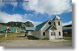 churches, el chalten, horizontal, latin america, old, patagonia, photograph