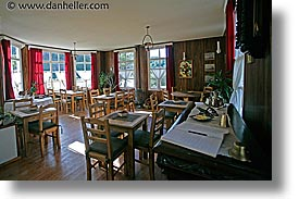 dining, dining room, el pilar, horizontal, hotels, latin america, patagonia, pilar, rooms, photograph