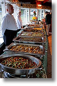 buffet, hosteria las torres, hotels, latin america, patagonia, vertical, photograph