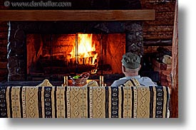 fireplace, horizontal, hosteria las torres, hotels, latin america, patagonia, photograph