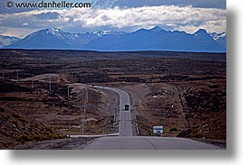 andes, highways, horizontal, latin america, patagonia, photograph